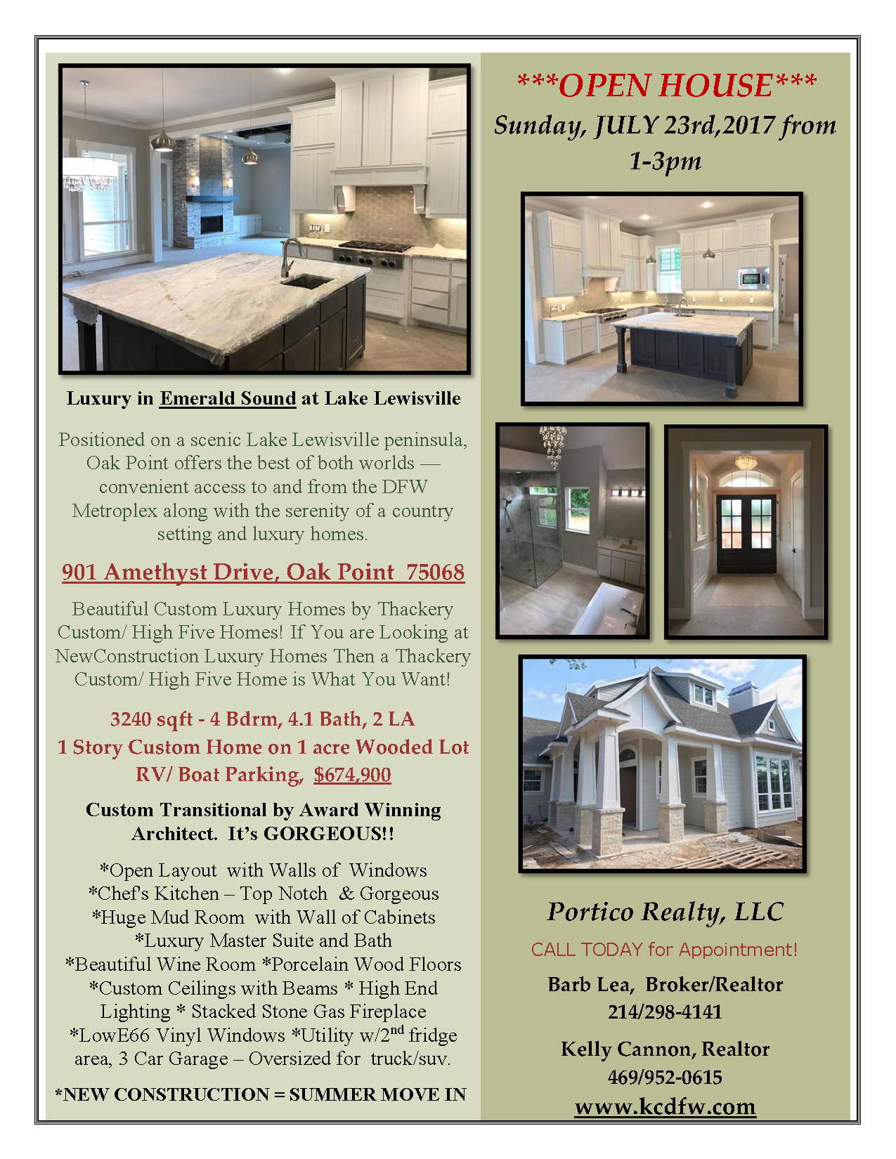 My Listings And Open Houses